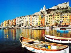 Cascade of colors in on the Ligurian coast of Italy! In 1997 Porto Venere and the villages of Cinque Terre were listed as the UNESCO's World Heritage Site. Would die to go there just to see it. Places In Italy, Oh The Places You'll Go, Places To Travel, Places To Visit, Travel Destinations, Travel Things, Holiday Destinations, Italy Vacation, Vacation Spots