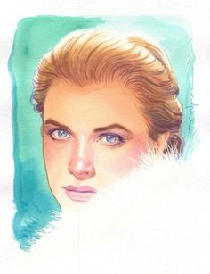 Grace Kelly by Brian Stelfreeze *