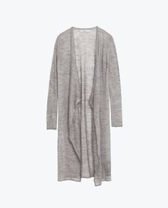 Image 6 of LONG CARDIGAN from Zara