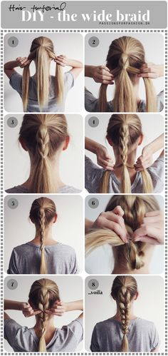 DIY: the wide braid (Passions for Fashion)