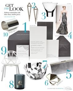 CeciStyle Magazine v109: Get The Look - Modern Art - Embrace minimalism with these clean, modern pieces