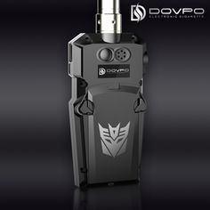 our web:http://www.dovpoecig.com/ E cig  DOVPO E-MECH electronic cigarette  is a revolutionary Transformers Style Electronic cigarette Mod with touch screen operation, it can be powered up to 30W and it accept two 18650 batteries in series
