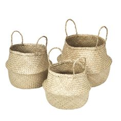 Ilse Fold baskets, natural/Cesti Ilse Fold, naturale