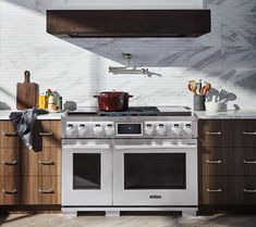 """48"""" Pro Gas Range with sous-vide built-in from Signature Kitchen Suite"""