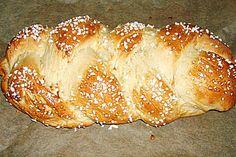 Hefezopf supereinfach    42g fresh yeast = about 4 tsp dry yeast  75g = about 5 Tbsp sugar