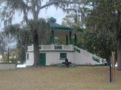 Springfield Historic District, Jacksonville, FL, The gazebo in Hogan Park