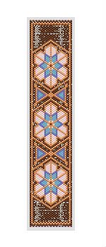 Persia Bracelet Pattern at Bead-Patterns.com A perfect companion for the persia necklace. Full color graph w/delica colors listed. Beadscape image and flat pattern graph.