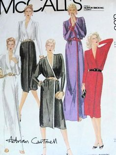 McCalls 6810 Vintage Sewing Pattern Sexy by WEAREVINTAGESEWING, $6.00