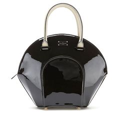 Buy Paul's Boutique Meg Patent Tote Bag, Black/Cream from our Handbags, Bags & Purses range at John Lewis & Partners. Paul's Boutique, New Handbags, Black Tote Bag, Black Cream, Purses And Bags, Fashion Beauty, Stuff To Buy, Shoes, Wallets