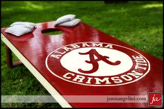 Custom cornhole - who in Dothan makes these? somebody on FB