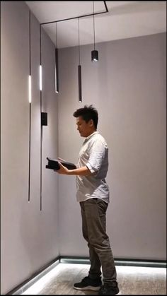Led Light Design, Ceiling Light Design, Modern Lighting Design, False Ceiling Design, Ceiling Lights, Interior Lighting Design, Architectural Lighting Design, Home Room Design, Home Interior Design