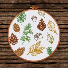 Cross Stitching, Cross Stitch Embroidery, Hand Embroidery, Everything Cross Stitch, Creative Arts And Crafts, Gifts For Nature Lovers, Modern Cross Stitch Patterns, Diy Décoration, Simple Flowers