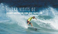 Kilian Garland Australia Surf Trip