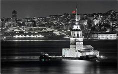 turkey istanbul kiz kulesi