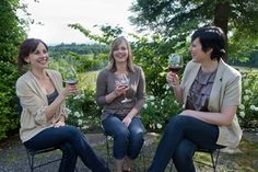 The North Willamette Harvest Trail is a full-day, three winery tour explores vineyards and wine via tours, hands-on harvest activities, and wine tastings.