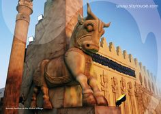 Iranian Pavilion at the Global Village - Dubai Global Village, Iranian Art, Saudi Arabia, Pavilion, Statue Of Liberty, Morocco, Special Events, Countries, Dubai
