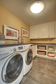 Cottage Laundry Room - Find more amazing designs on Zillow Digs!
