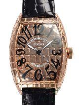 最高級フランクミュラースーパーコピー フランクミュラー時計コピー トノウカーベックス ゴールドクロコ 8880SC GOLD CRO