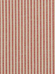 Pindler & Pindler Fabrics - Bentley - Crimson - $29.25 Per Yard #interior #decor #ticking #stripe #upholstery #bedding Ticking Fabric, Ticking Stripe, Beautiful Interior Design, Modern Interior, Pattern Texture, Ticks, Textiles, Home Decor Inspiration, Traditional Design