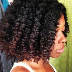 Tenesha // 4A Natural Hair Style Icon | Black Girl with Long Hair