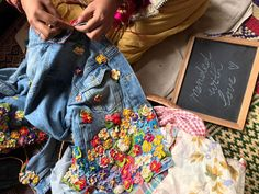 Aneeth Arora 39 project is a buzzing activity, if you want handcrafted details to lend a fresh spin to your old favourite from the wardrobe Luxury Lifestyle Women, Embroidery On Clothes, Sewing Class, Vera Bradley Backpack, Brand You, Wearable Art, Indian, Recycled Clothing, Google Search