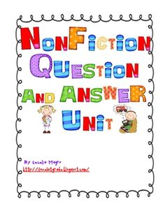 $5.50   This 22 page unit is perfect for K-2 students.  All of the ideas have been done with actual students for over 5 years.  The unit includes:  a list ...
