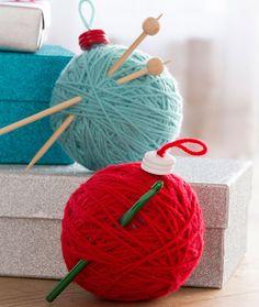 Hook & Needle Ornaments