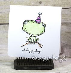 Angie Hagist - Freckles Happy Day Card