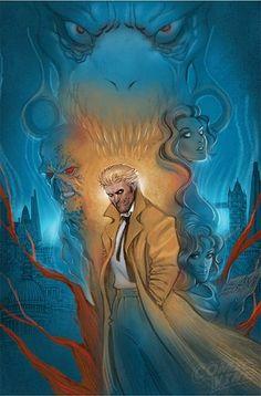 Hellblazer #1 (2016) cover by Moritat