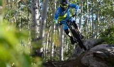 Downhill Mountain Biking at the Steamboat Bike Park