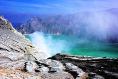 Indonesia is also home to the Ijen volcano and its crater lake. | 35 Gorgeous Pictures Of Indonesia That Will Take Your Breath Away