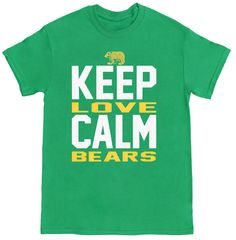 Keep Calm, Love Bears. (from Bearland Outfitters) #sicem #Baylor
