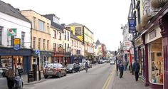 Love little villages and the little shops.  This is Killarney Ireland.  We took a train ride from Dublin down through the beautiful scenery.  THAT train ride was delightful!