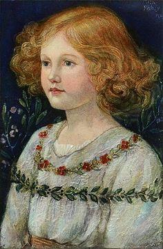 Rosemary, fille de John Noble byy Alexander Fisher (1864 – 1936, English)