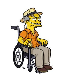 Simpsonized Breaking Bad: DING DING DING! Hector