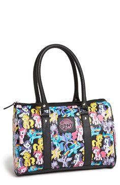 Loungefly My Little Pony™ Faux Leather Zip Tote available at #Nordstrom