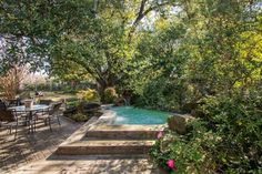 Traditional Swimming Pool with Fence, Pathway