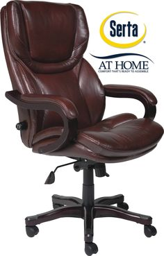 Blue Leather Executive Chair Office Pinterest Rooms And Room