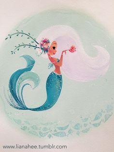 Image result for cute mermaid art