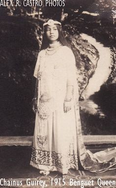 This is the untold story of Chainus, the first titled Igorota beauty queen in history. Philippines Outfit, Philippines People, Philippines Culture, Filipiniana Dress, Philippine Women, Filipino Culture, Filipina Beauty, Tribal Women, House Dress