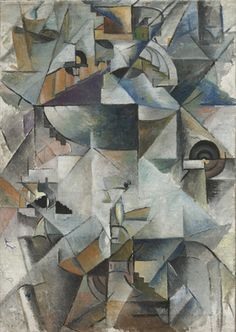 Samovar: 1913 by Kazimir Malevich. Samovar, in its mastery of complex colors and shapes, is a good example of the newly created Russian style, Cubo-Futurism, which Malevich saw as a logical continuation of Cubism and Futurism. Georges Braque, Kunst Online, Online Art, Abstract Expressionism, Abstract Art, Kazimir Malevich, Cubism Art, Harlem Renaissance, Art Moderne