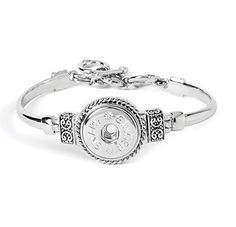 """Create your own interchangeable jewelry with Ginger Snaps Accessories. Fits wrist 7"""" to 8.5"""""""