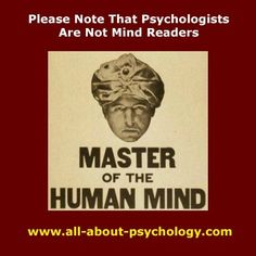 Questions about being a psychologist...?
