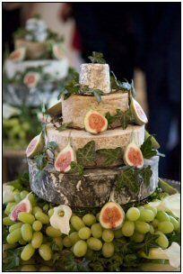Cheese wedding cake made by Tastes Delicatessen, Eton (www.tastesdeli.co.uk). Photography by Giles Penfound. #cheese #wedding
