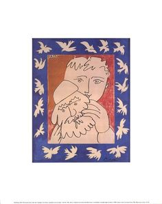 New Year by Pablo Picasso Framed Art Print Wall Picture, Espresso Brown Frame, 17 x 19 inches ** You can get additional details at the image link. (This is an affiliate link) Picasso Art, Pablo Picasso, Framed Art Prints, Fine Art Prints, New Years Poster, Cubism, Picture Wall, Wall Stickers, Vintage World Maps