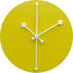 Alessi Dotty Clock Gul