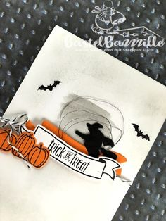 Sneak Peek, Autumn, Winter, Stampin Up, SU, Halloween, Spooky Fun, Berlin, BastelBazzzille, Stempeln, Stanzen, Staunen, Karte, Invitation, Einladung, Bannereien, Banner