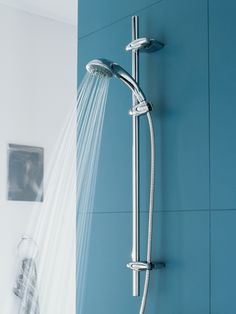 Grohe Movario 100 Five Shower Set In Brushed Nickel Brown