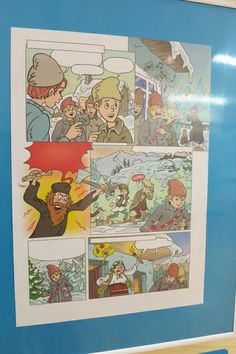 Serban Andreescu, Childhood Memories by Ion Creanga, 2013. The Art of Comic Strips Exhibition at the National Library of Romania (September 2013 -- May 2014)