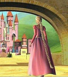 Rapunzel Barbie, Princess Rapunzel, Barbie Princess, 12 Dancing Princesses, All Disney Princesses, Disney Art, Disney Pixar, Barbie Swan Lake, Beauty Movie